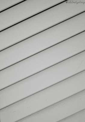 Lines from a shutter