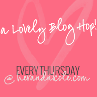 new blog hop button