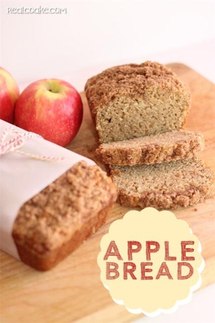 Anita's Amazing Apple Bread Recipe from realcoake.com