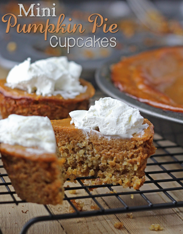 Mini-Pumpkin-Pie-Cupcakes