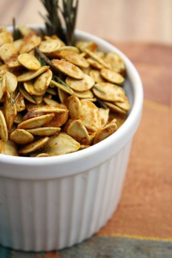My Kitchen Ventures-Seasoned Pumpkin Seeds