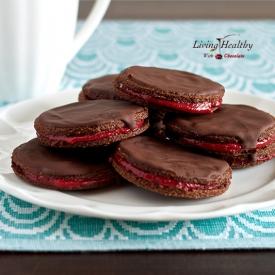 Chocolate Strawberry Bites from Foodtim