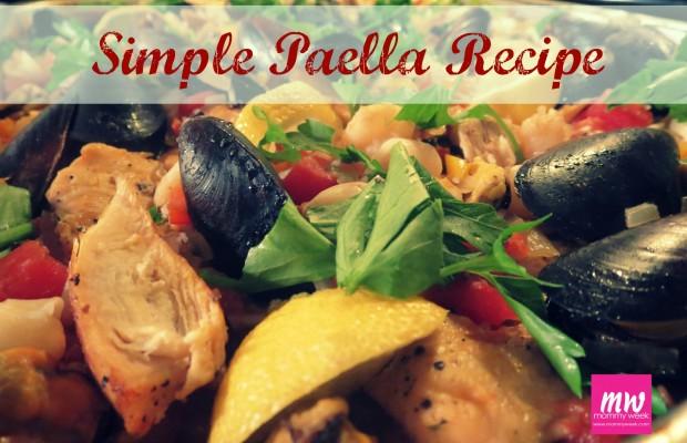 SimplePaellaRecipe-Mommy Week