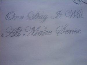 My Calligraphy Practice